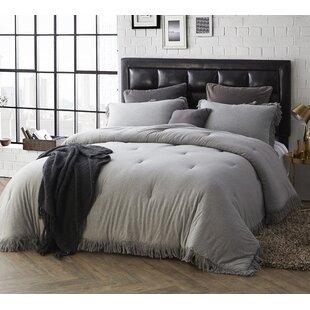 Ramona Jersey Knit Cotton Comforter Set by Greyleigh