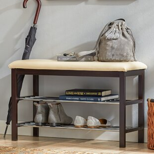 Reviews Shoe Storage Bench By Rebrilliant