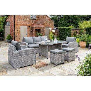Kampen Living Rattan Sectional Sofa Sets