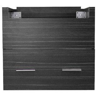 Xena Farmhouse Plywood-Melamine 46 Single Bathroom Vanity Base by American Imaginations