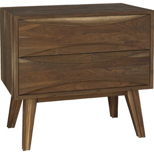 Crawford 2 Drawer Nightstand by Brownstone Furniture