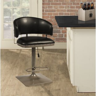 Glick Pelfrey Adjustable Height Swivel Bar Stool