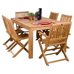 Elsmere 7 Piece Teak Dining Set