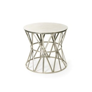 Mitt Angle End Table by 17 Stories