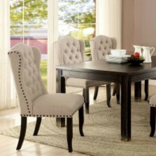 Dulin Contemporary Solid Wood Dining Table