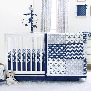 Best 4 Piece Crib Bedding Set ByThe Peanut Shell