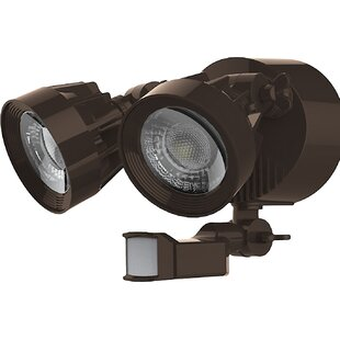 24-Watt LED Outdoor Security Flood Light with Motion Sensor by Nuvo Lighting