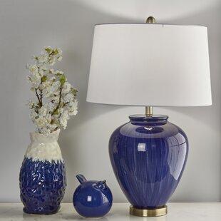 Rayne Ceramic Round 28 Table Lamp