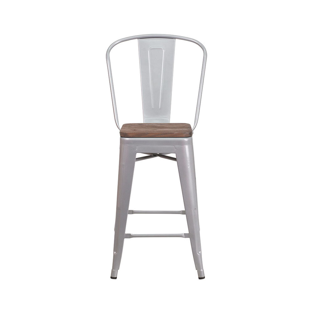 Pleasant Ilene 24 Bar Stool Creativecarmelina Interior Chair Design Creativecarmelinacom