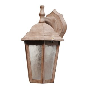 Affordable Flannigan 1-Light Outdoor Wall Lantern By Charlton Home