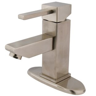 Kingston Brass Claremont Bathroom Faucet with Optional Deck Plate