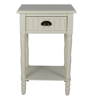 Rosas 1 Drawer Nightstand