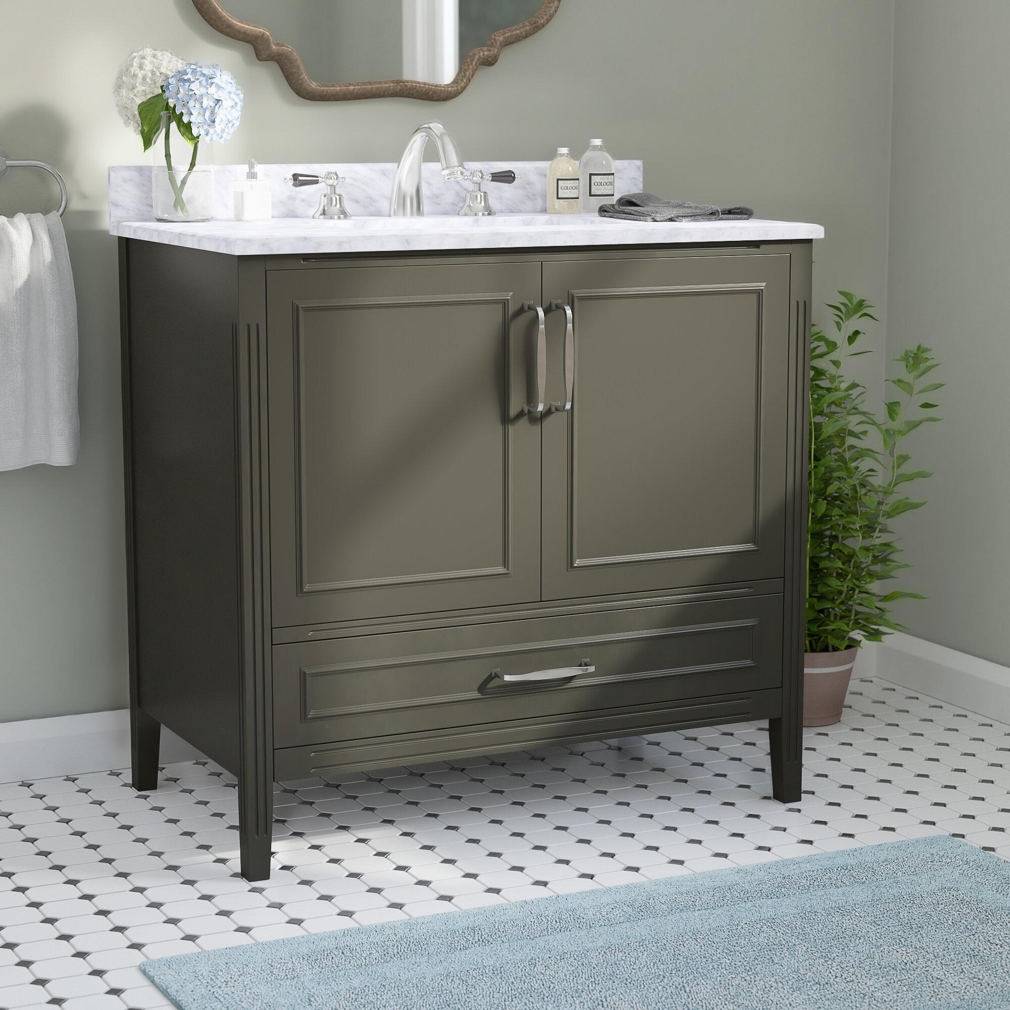 Charlton Home Annis 36 Single Bathroom Vanity Reviews Wayfair