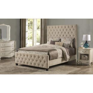 Keesee Upholstered Panel Bed by Alcott Hill