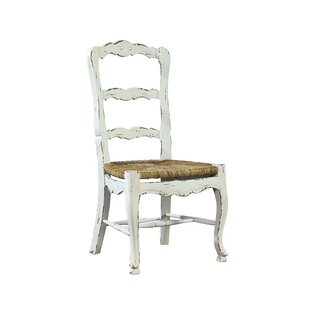 French Ladder Back Solid Wood Dining Chai..