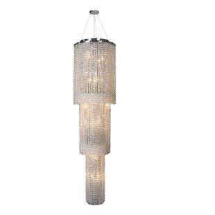 Diep 18-Light Chandelier by Orren Ellis