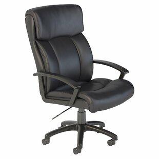 Stanton Plus Mid Back Ergonomic Genuine Leather Executive Chair by Bush Business Furniture Comparison