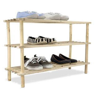 12 Pair Shoe Rack By Home Basics