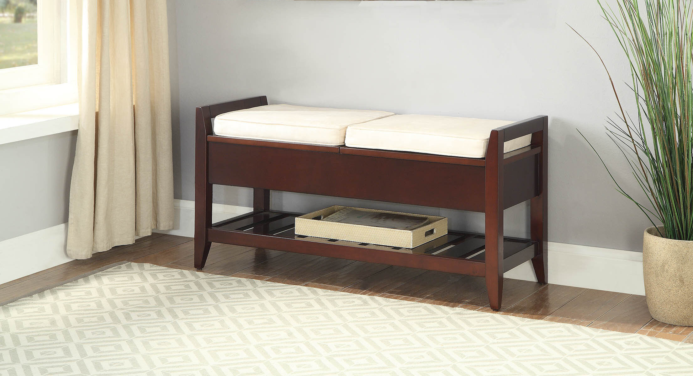 Storage Tall Benches You Ll Love In 2021 Wayfair