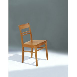 Granada Solid Wood Dining Chair By August Grove