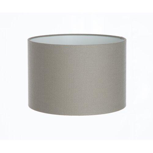 Lampenschirm aus Leinen Wayfair Basics Farbe: Taubengrau| Größe: 30 cm H x 30 cm B x 30 cm T | Lampen > Lampenschirme und Füsse | Wayfair Basics