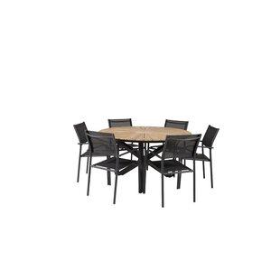 Anoki 6 Seater Dining Set By Ebern Designs