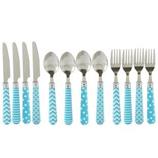 Castro Retro 12 Piece Flatware Set, Service for 4