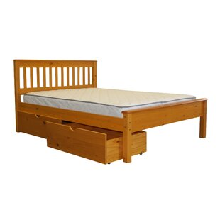 Treva Full Slat Bed With Storage by Harriet Bee Cheap