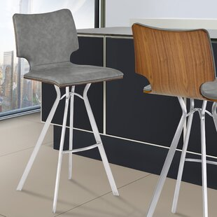 Lucker 30 Bar Stool Orren Ellis