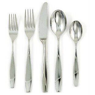 Skandia 43 Piece Flatware Set, Service for 8
