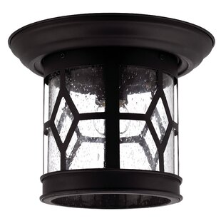 Charlton Home Stockton 1-Light Flush Mount