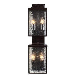 Mission You 4-Light Outdoor Flush Mount By Varaluz Outdoor Lighting