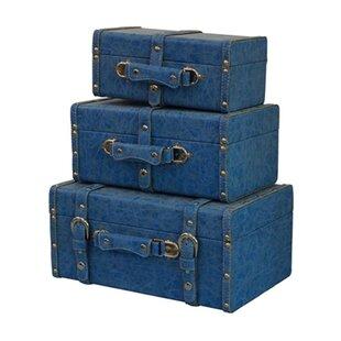 Hazley Mini 3 Piece Trunk Set by Winston Porter