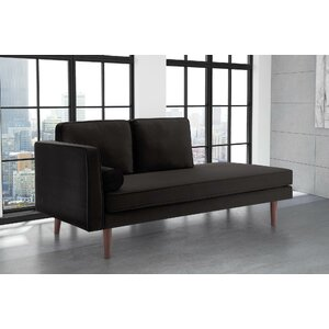 Jabari Mid Century Modern Upholstered Daybed by George Oliver