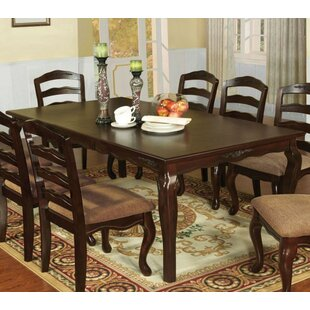 Astoria Grand Elise Solid Wood Dining Table