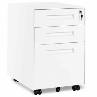 Tremont 3 Drawers Vertical Filling Cabinet By Ebern Designs