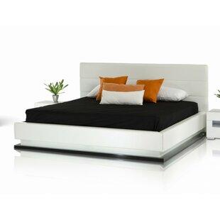 Orren Ellis Sommerset Modern Upholstered Platform Bed