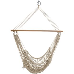 Wilcoxson Single Cotton Rope Chair Hammock