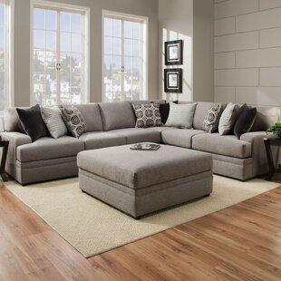 Latitude Run Mervin Briar Simmons Upholstery Sectional