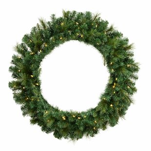 Brussels Mixed Pine 61cm Christmas Wreath By The Seasonal Aisle
