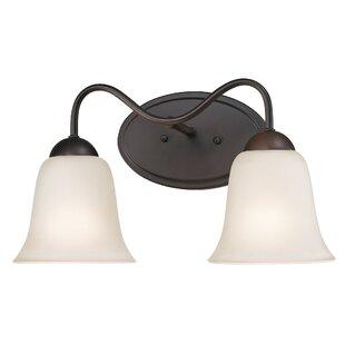 Inexpensive Cathy 2-Light Vanity Light By Winston Porter
