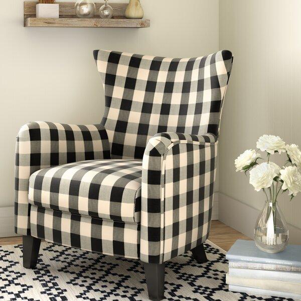 Marina Wingback Club Chair Wayfair