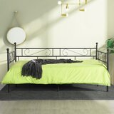 Sigmon Frosted Twin Daybed by Fleur De Lis Living