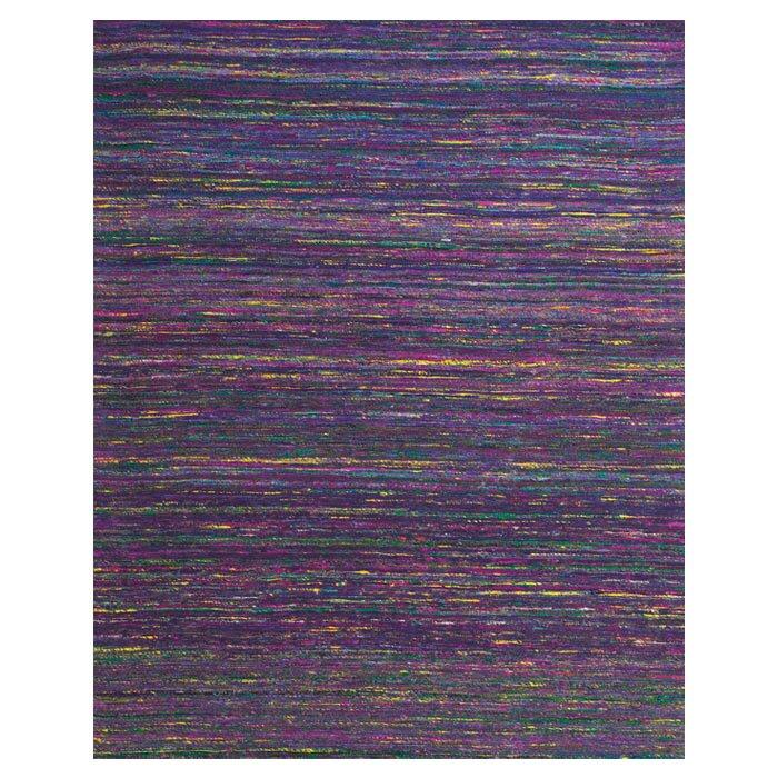 Tieast Handmade Purple Area Rug