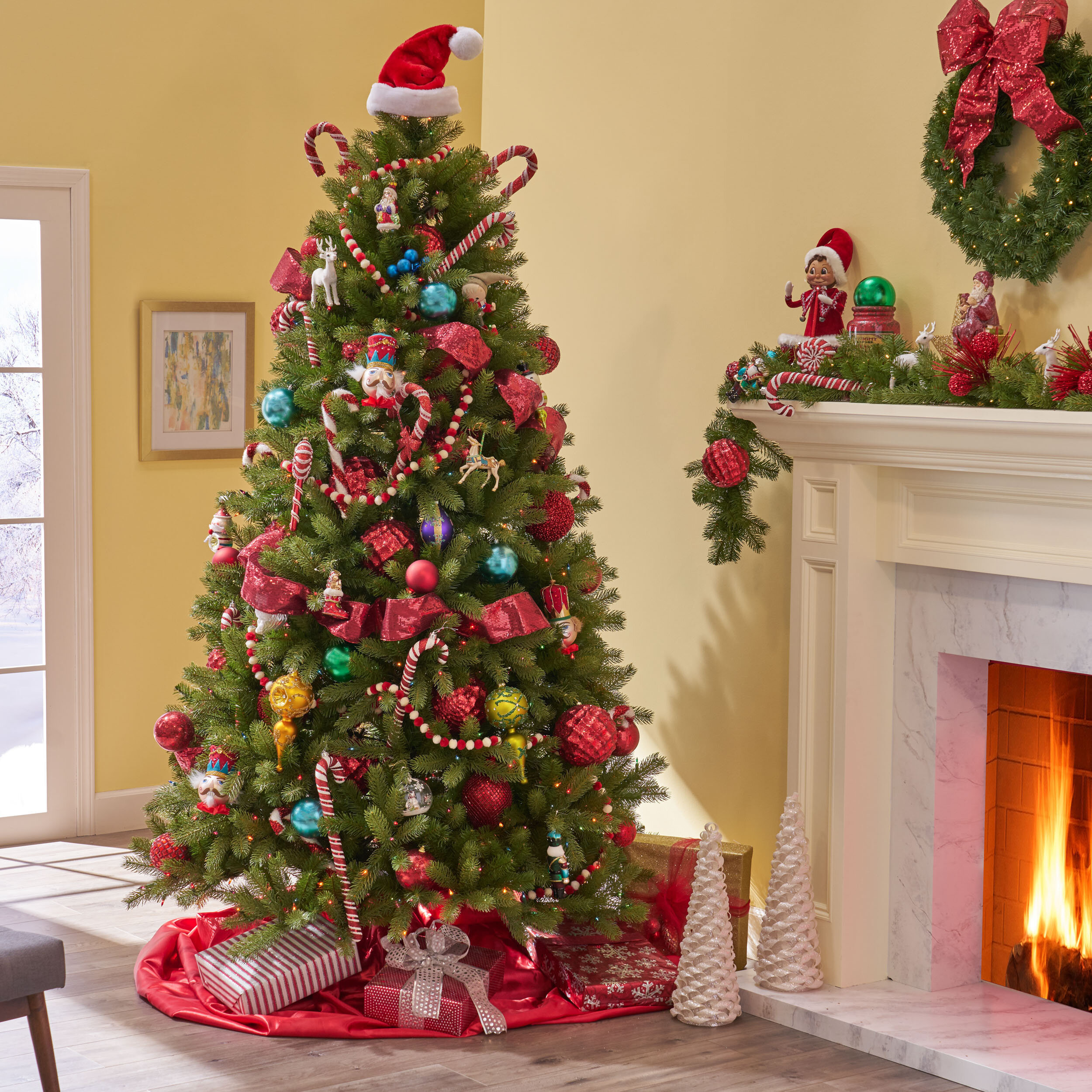 Artificial Christmas Tree With Lights Cheaper Than Retail Price Buy Clothing Accessories And Lifestyle Products For Women Men