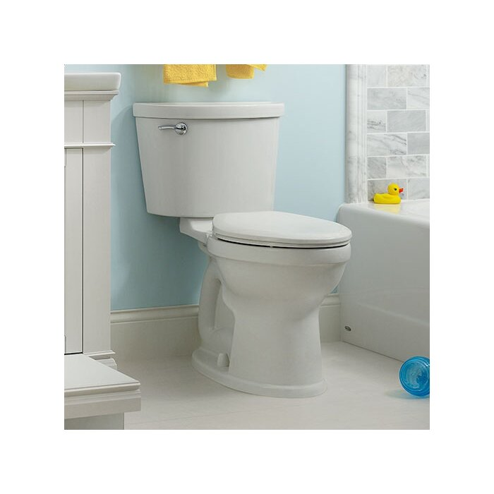 Terrific Champion 1 6 Gpf Elongated Two Piece Toilet Seat Included Machost Co Dining Chair Design Ideas Machostcouk