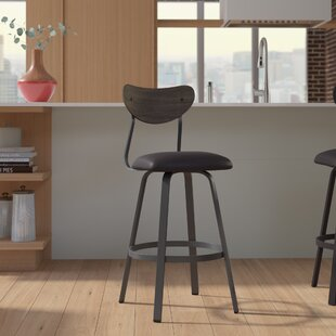 Demko 39 Swivel Bar Stool Brayden Studio