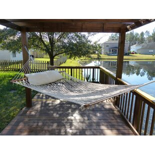Tackett Double Tree Hammock by Rosecliff Heights