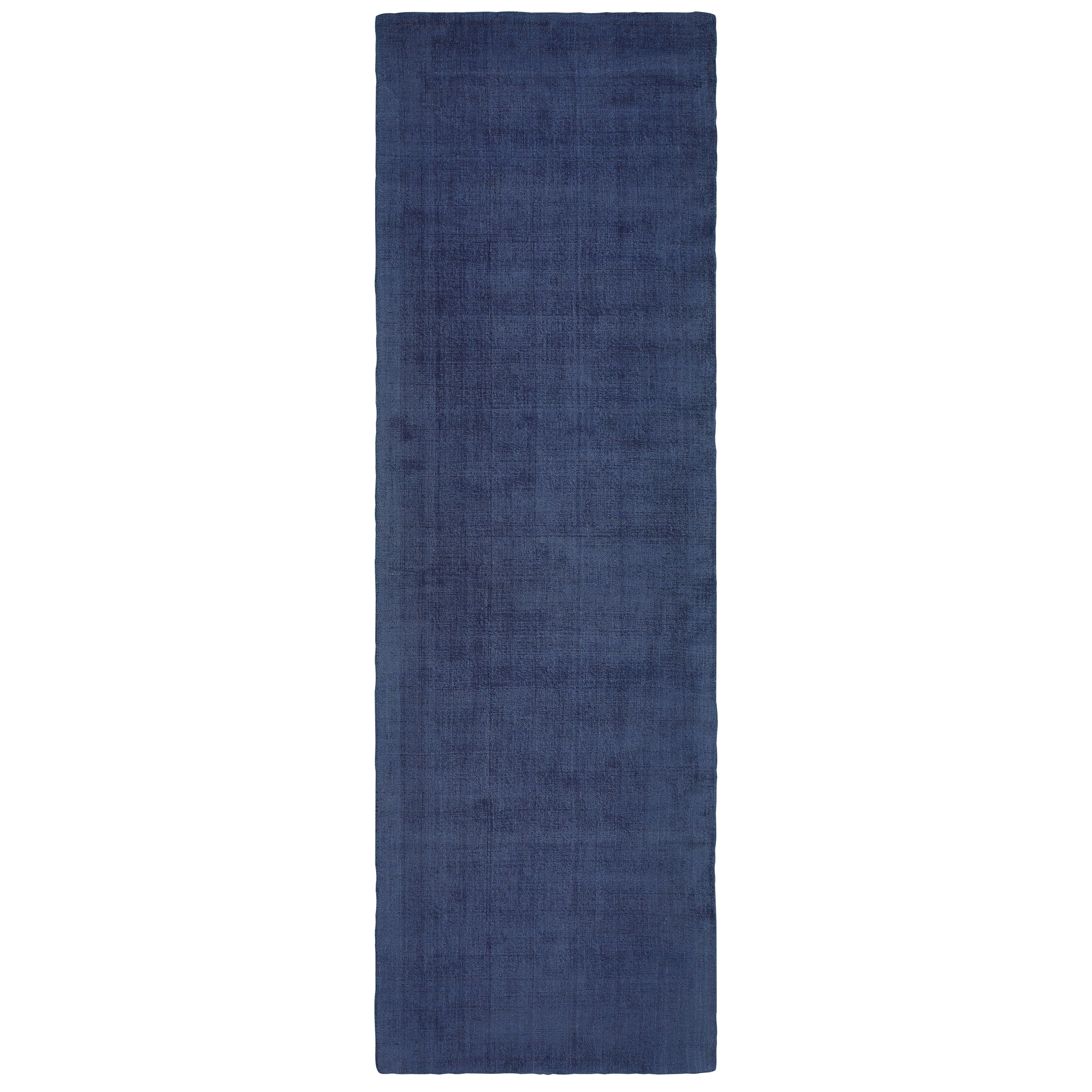 Bronx Blue Bedroom Project: Ivy Bronx Babbitt Casual Hand-Tufted Blue Area Rug