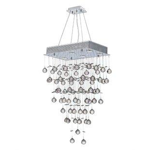 Orren Ellis Leiker 6-Light Semi Flush Mount